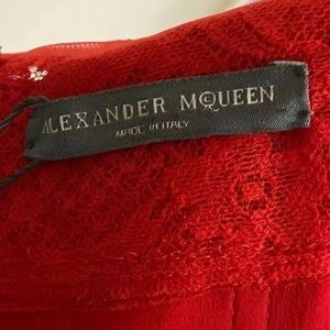 Alexander McQueen Dresses - Alexander Mcqueen Draped Off The Shoulder Gown